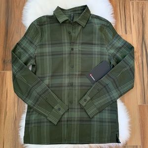 Masons peak flannel lululemon button down